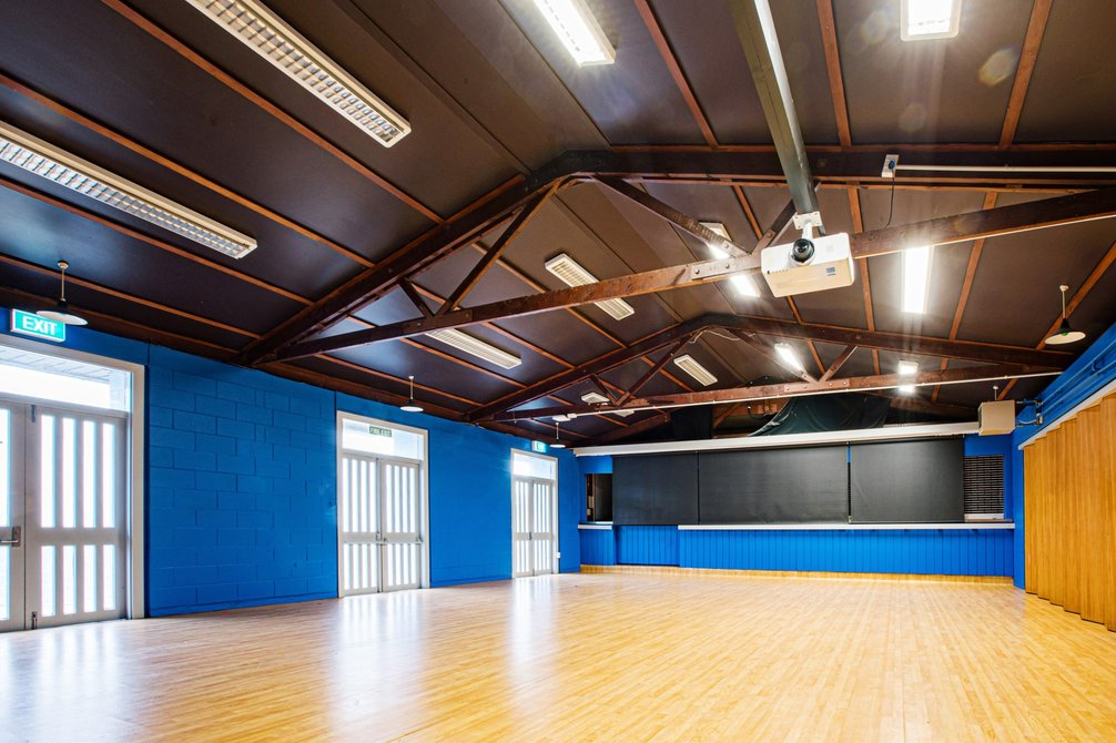 The empty Activity studio, waiting for a small group to use it.