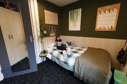 City court hostel bedroom