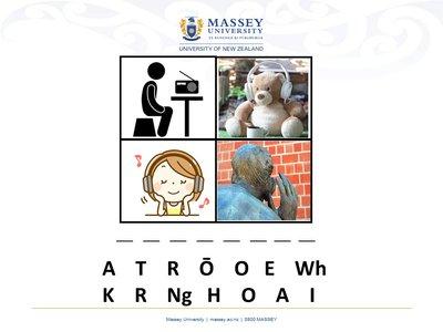 Kotahi te Kupu image
