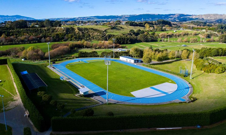 Manawatū community athletics track