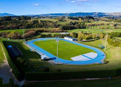 Manawatū community athletics track