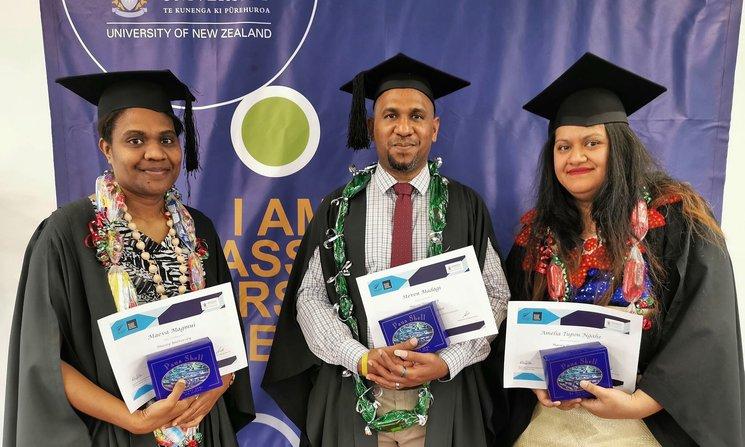 Pacific graduates