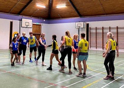 Wellington social sport teams in action