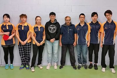2018 National Tertiary Championships, Massey women's table tennis team