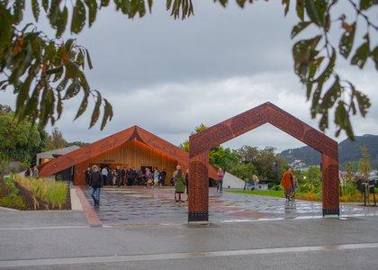 Te Rau Karamu Marae, Wellington campus