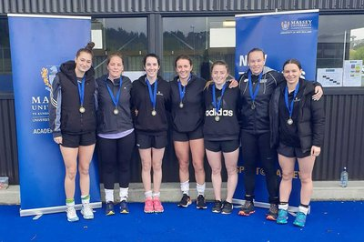 Massey women's hockey team successfully defended their title in 2020.